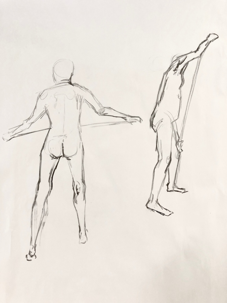 Life drawing every day for two weeks – Lauren Kathleen
